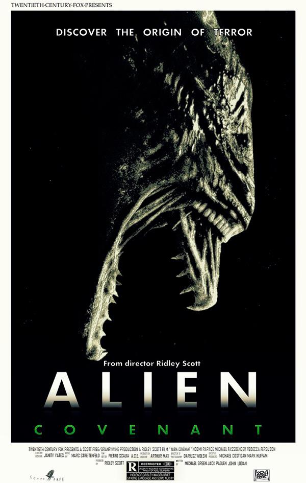 Saiba quais são os 7 filmes mais esperados que estreiam em 2017 – Alien Covenant