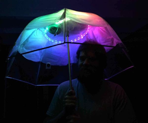 8 guarda-chuvas práticos e divertidos - Com iluminação