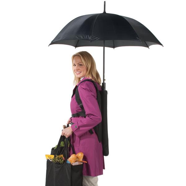 8 guarda-chuvas práticos e divertidos - Para quem tem as mãos ocupadas