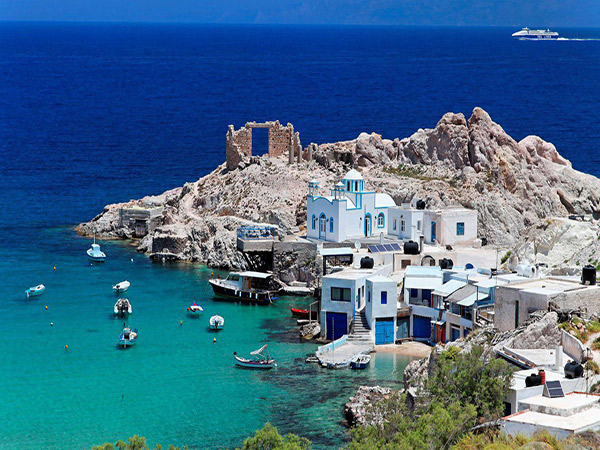 6 destinos baratos para conhecer em 2017 - Ilha de MIlos, Grécia