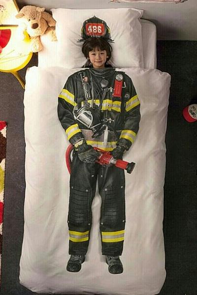 9 edredons divertidos que aquecem a sua cama - Bombeiro