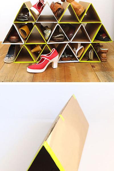 9 sapateiras para todos os gostos e carteiras - Construa uma em cartão