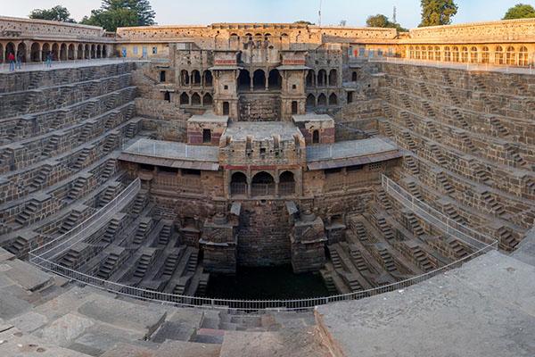 As 8 escadas mais impressionantes do mundo - Índia