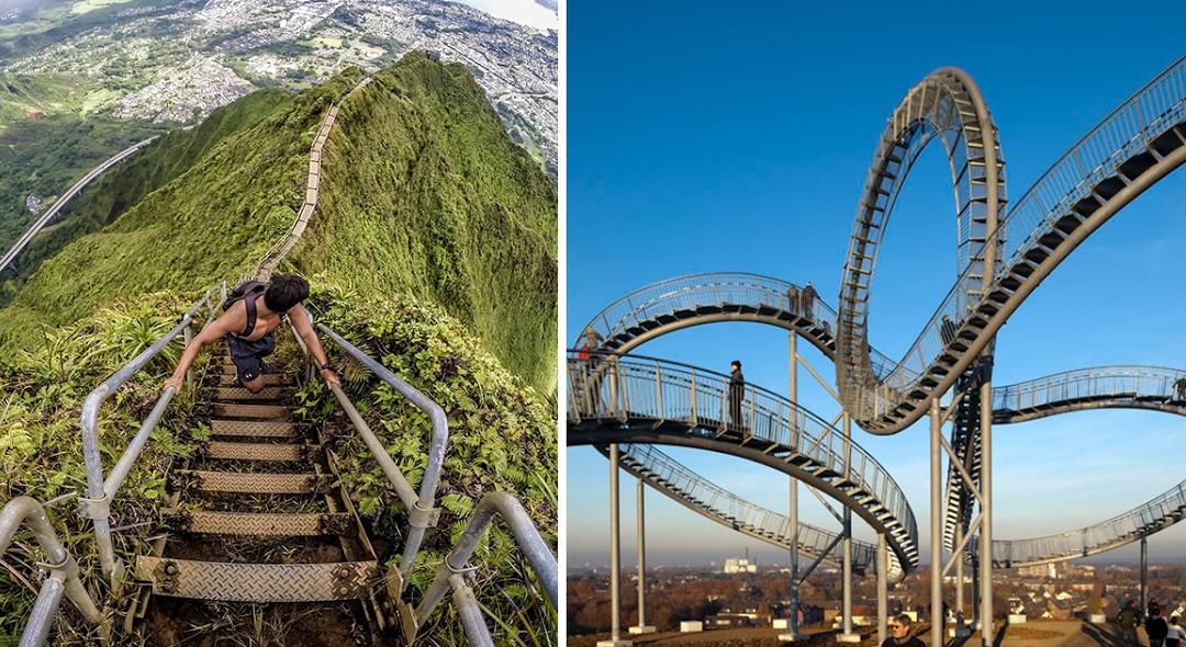 As 8 escadas mais impressionantes do mundo