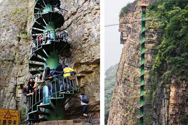 As 8 escadas mais impressionantes do mundo - China