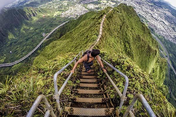 As 8 escadas mais impressionantes do mundo - Havai