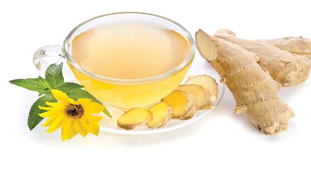 Chá de gengibre, limão, mel e canela – um amigo para o inverno