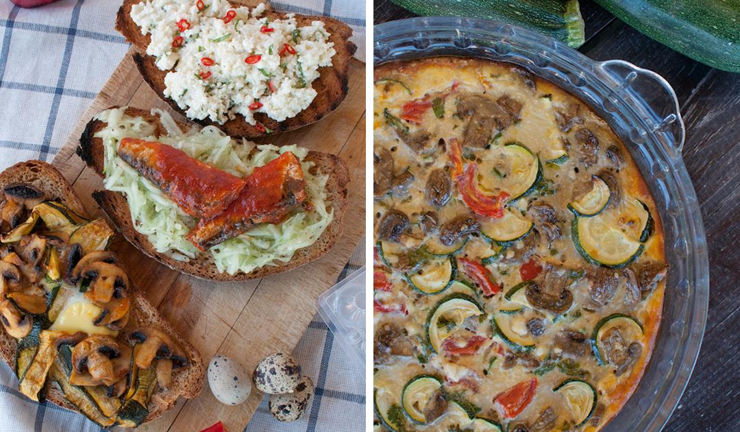 Duas refeições versáteis e saudáveis para toda a família