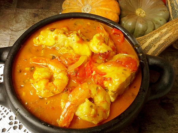 Sopa de peixe com coentros para 6 pessoas - Delicie-se