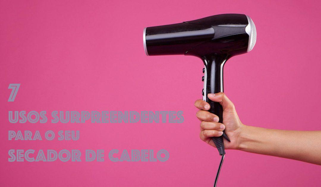 Usos surpreendentes do secador de cabelo
