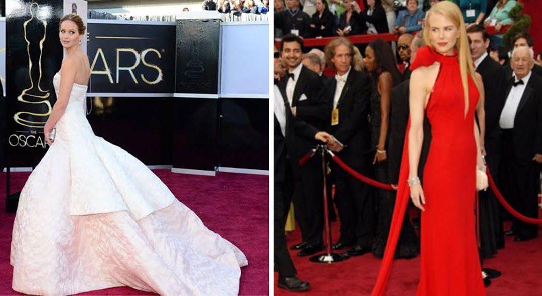 Óscares – os 10 vestidos mais deslumbrantes de sempre