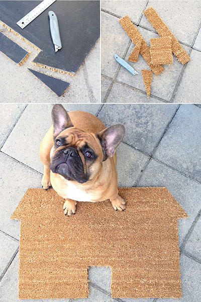 10 tapetes de entrada para sua casa - Defina a forma que gosta