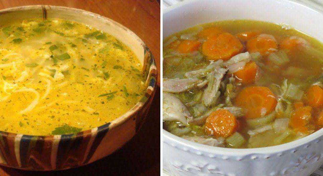 2 canjas de galinha para o Inverno – portuguesa e búlgara