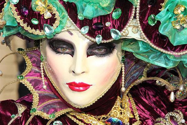Carnaval de Veneza - Beleza e história - Eleição da máscara mais bela