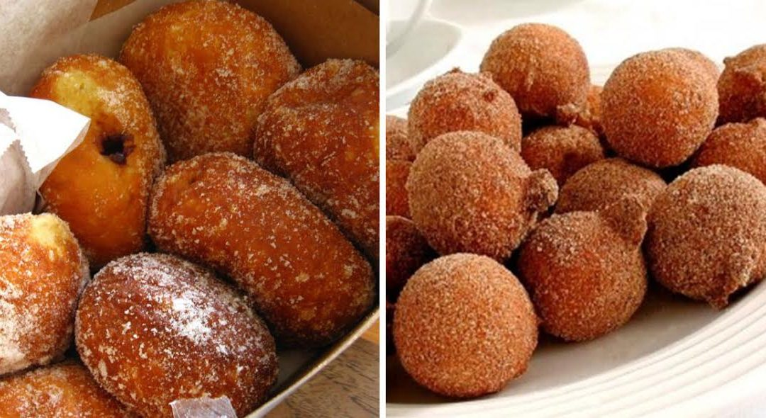 Receita de malassadas da Madeira para comer no Carnaval