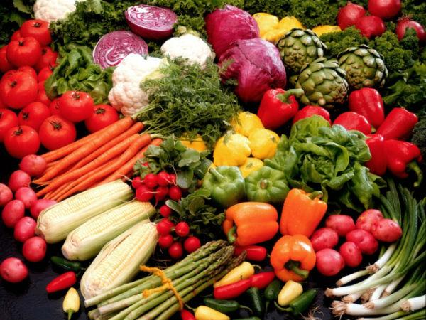 7 Grandes dicas para evitar a caspa- Legumes e fruta