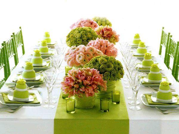 7 centros de mesa baratos e primaveris - Seja criativo à mesa