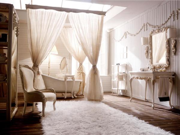 10 cortinas primaveris para alegrar a sua casa de banho - Glamour ao estilo de Hollywood