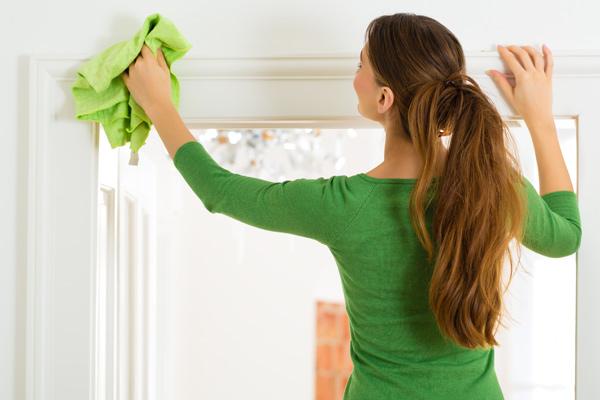 10 cuidados a ter com a casa na Primavera - Limpe a casa