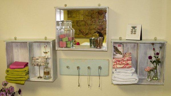 Gavetas antigas - 10 ideias de decoração - Tenha um espelho diferente