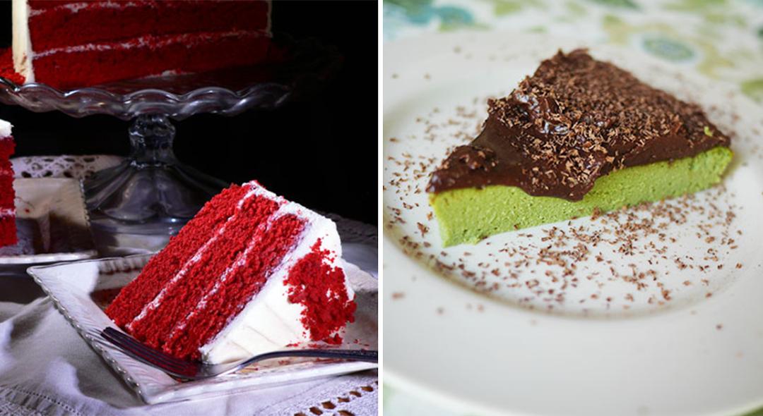 2 bolos irresistíveis para as mulheres da sua vida