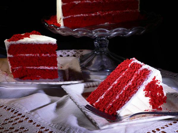 2 bolos irresistíveis para as mulheres da sua vida - Bolo Red Velvet