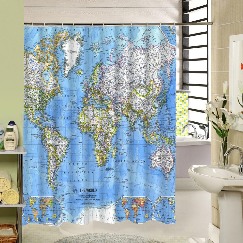 10 cortinas primaveris para alegrar a sua casa de banho - Mapa mundo