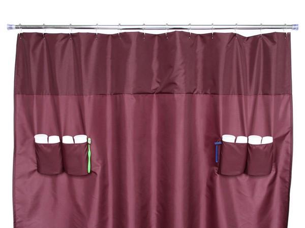 10 cortinas primaveris para alegrar a sua casa de banho - Bolsos e tons fortes