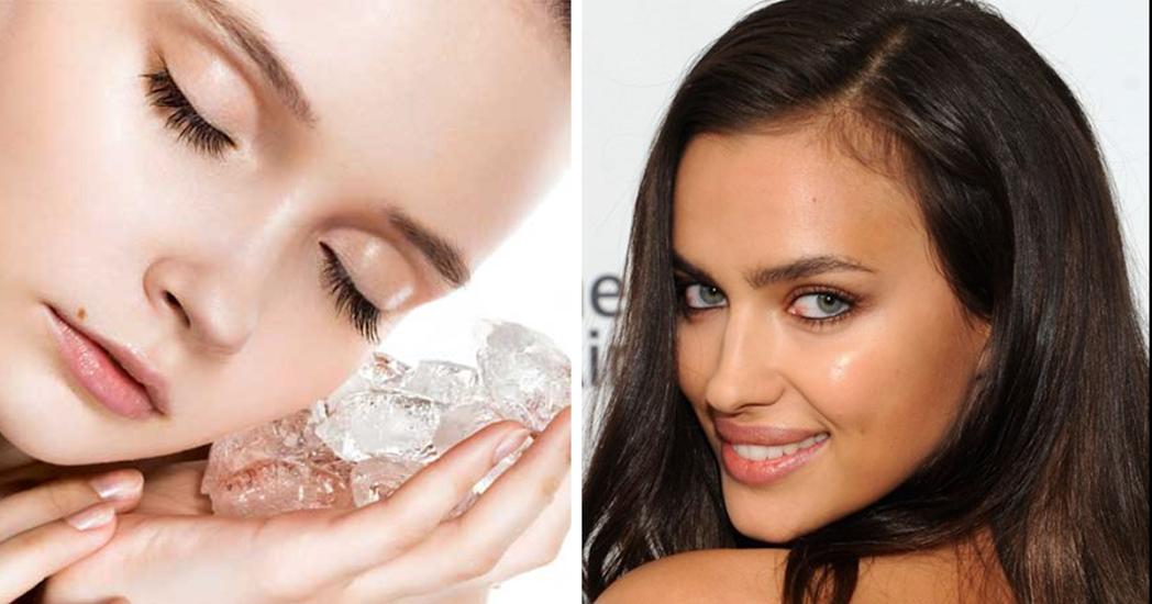 5 razões para usar gelo no rosto ao acordar