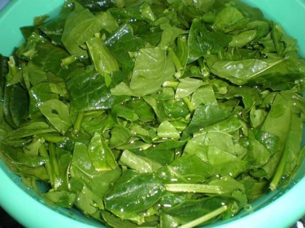 7 alimentos que não devem ser reaquecidos - Coma espinafre fresco