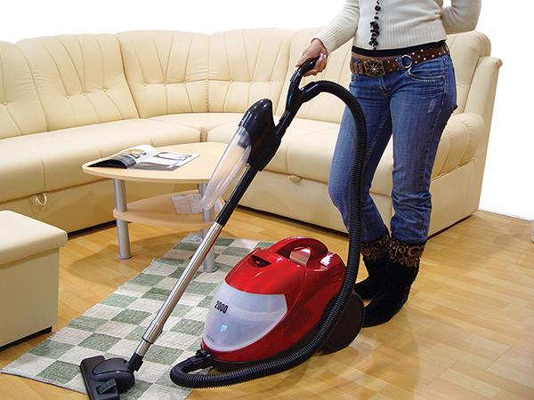 10 cuidados a ter com a casa na Primavera - use o aspirador nas limpezas