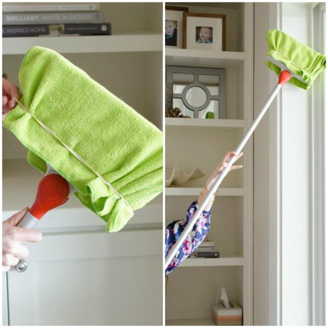 Truques para limpar os cantos mais inacessíveis de sua casa