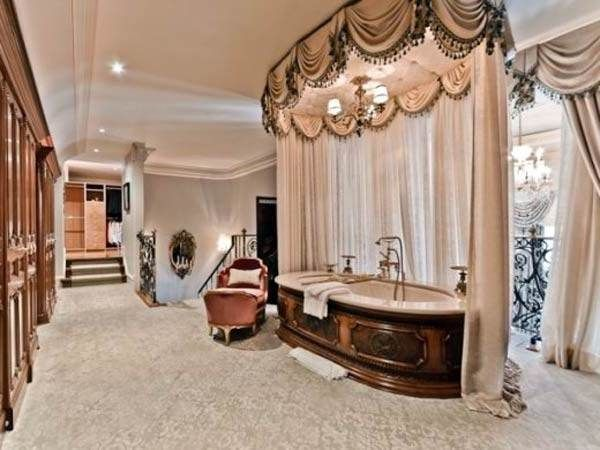 10 cortinas primaveris para alegrar a sua casa de banho - Luxo ao rubro