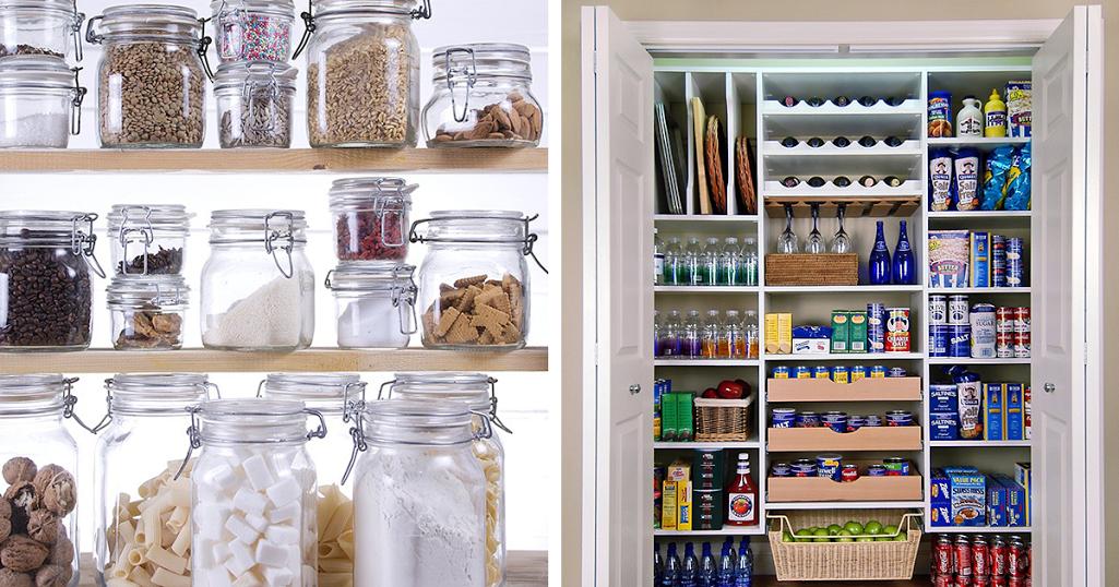 Como ter uma despensa limpa e organizada – 9 dicas