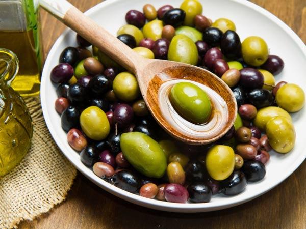Gorduras boas que devemos incluir na dieta- Azeitonas