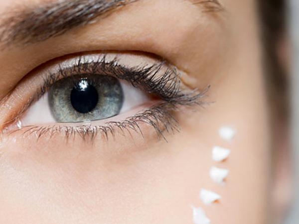 10 Dicas que retardam o aparecimento de rugas- Creme de olhos