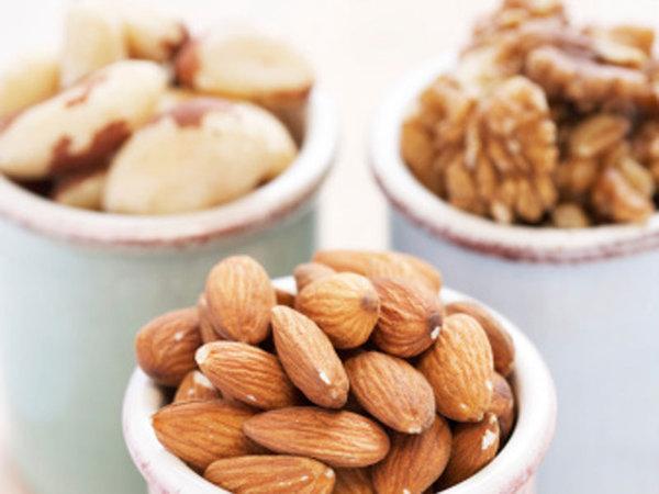 Gorduras boas que devemos incluir na dieta- Frutos secos