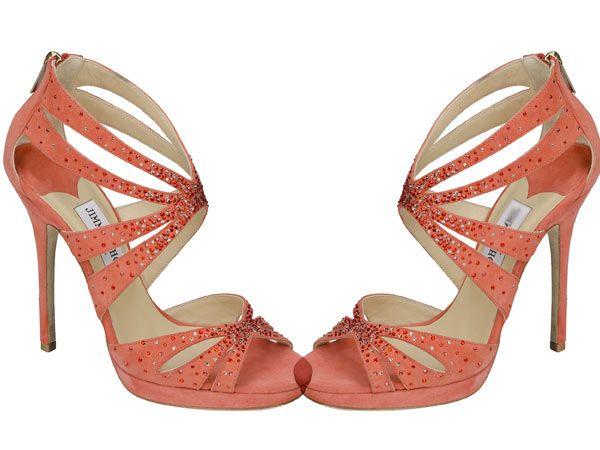 10 sapatos a que nenhuma mulher resiste- Sandálias salmão