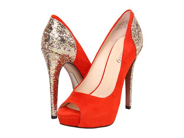 10 sapatos a que nenhuma mulher resiste- Sapatos laranja