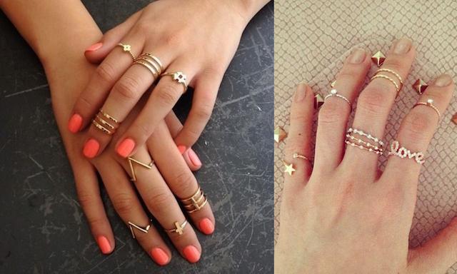 As 10 jóias que vai querer ter esta Primavera/ Verão - Anéis de todos os tamanhos