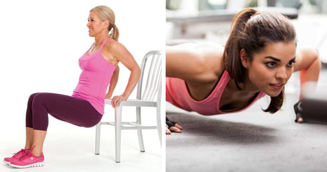 5 Exercícios para ter uns braços mais firmes e tonificados