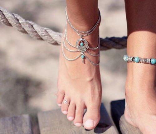 As 10 jóias que vai querer ter esta Primavera/ Verão - Pulseiras para o tornozelo