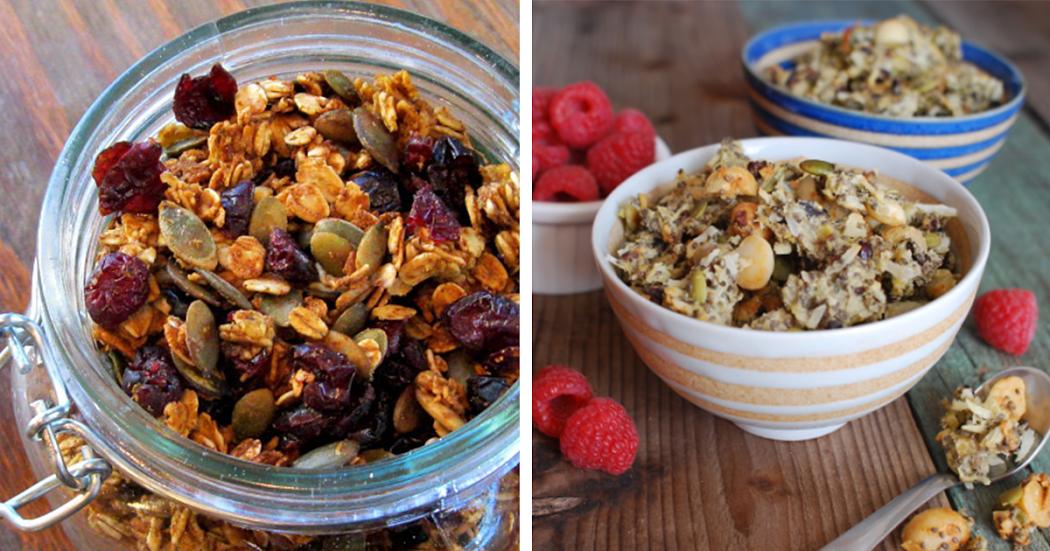 7 benefícios da granola + receita pequeno-almoço completo