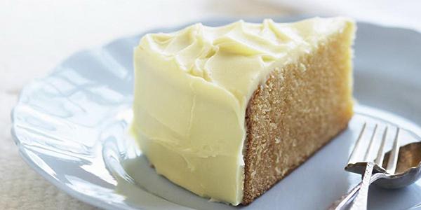 Receita de bolo húmido de chocolate branco - Ingredientes