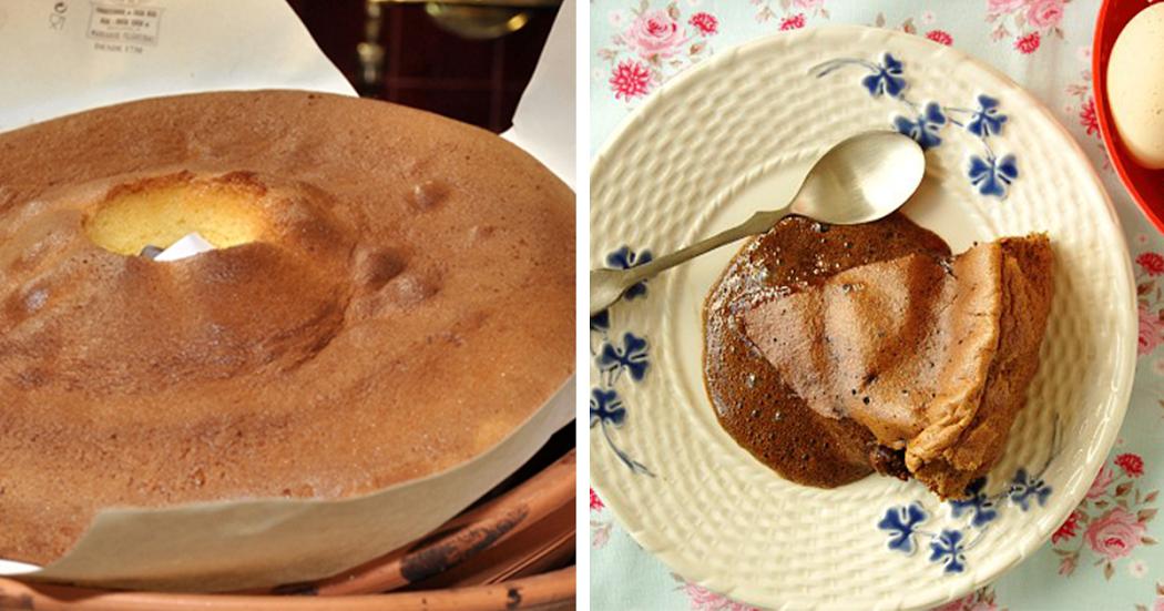 Receita de pão de ló húmido de chocolate