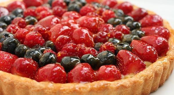 Tarte de frutos vermelhos - Uma sobremesa sem açúcar - Delicie-se