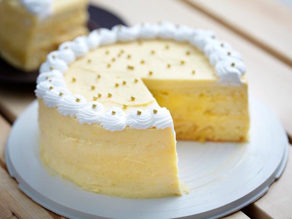 Receita de bolo húmido de chocolate branco-bolo de chocolate branco