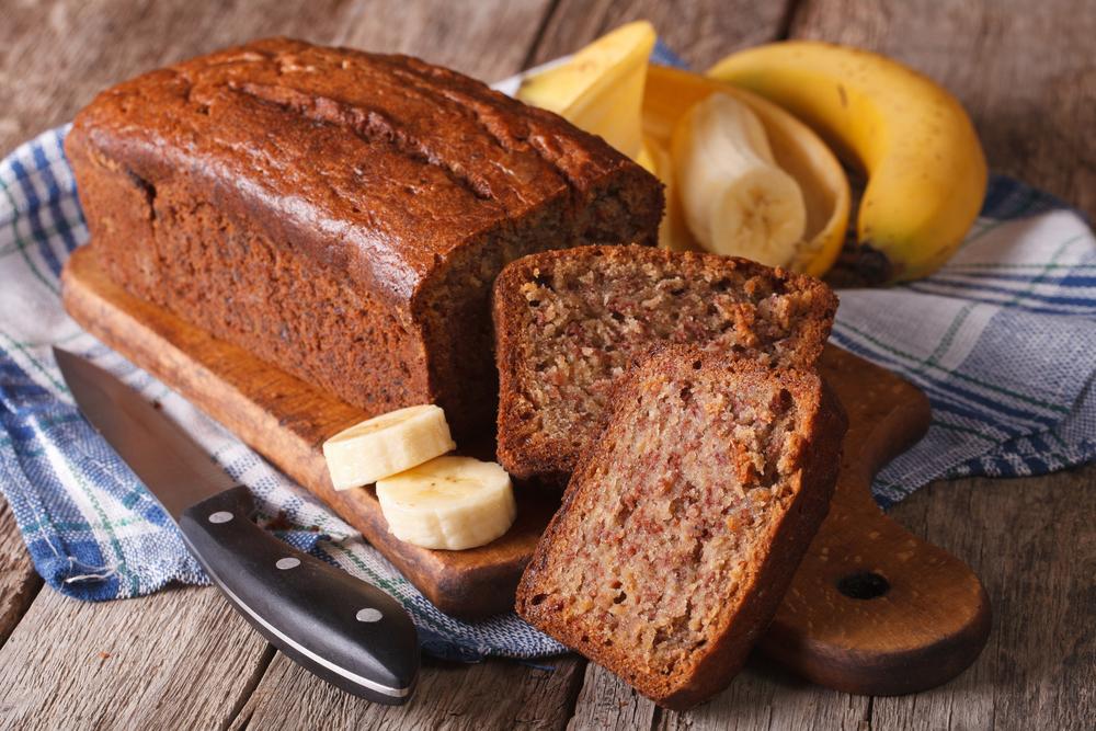 Dicas saudáveis - Benefícios do amaranto - Bolo de banana com amaranto