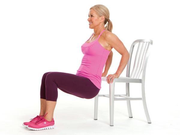 5 Exercícios para ter uns braços mais firmes e tonificados- Fundos Tricep