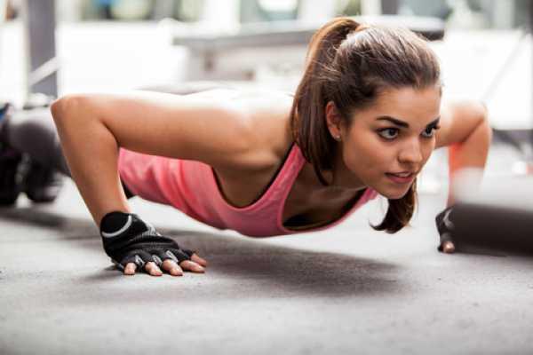 5 Exercícios para ter uns braços mais firmes e tonificados- Push up body up